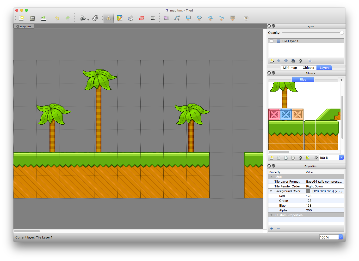Creating a tilemap with spritekit swift edition 2d Create a map online free
